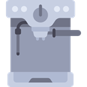 Automation, drink, kitchenware, technology, Coffee Shop, Coffee Maker, hot drink, Furniture And Household DarkGray icon