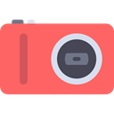 technology, Camera, photo camera, photography, photo, Furniture And Household, photograph Tomato icon