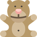 childhood, Animals, puppet, Animal, children, Kid And Baby, teddy bear, Fluffy Icon