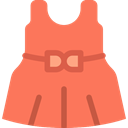 Hearts, fashion, Dresses, Girls, Kid And Baby, Baby Clothing, babies, Baby Clothes, dress, Girl Coral icon