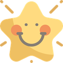 shapes, signs, Favorite, rate, interface, Favourite, star, Kid And Baby Khaki icon