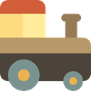 vehicle, train, transport, Locomotive, Public transport, transportation, Automobile, Kid And Baby DarkSlateGray icon