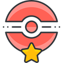 video game, star, gaming, nintendo, pokemon Tomato icon