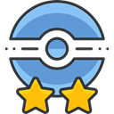 nintendo, video game, gaming, insignia, pokemon CornflowerBlue icon