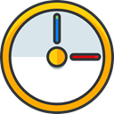Clock, Time And Date, nintendo, video game, pokemon Gainsboro icon