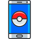 smartphone, video game, pokemon, gaming, nintendo DodgerBlue icon