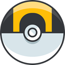 nintendo, video game, gaming, Ultra Ball, pokemon DarkSlateGray icon