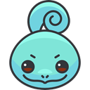 video game, pokemon, nintendo, gaming, Avatar, Creature, squirtle, Character Aquamarine icon