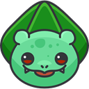 Creature, pokemon, Bullbasaur, nintendo, gaming, Character, Avatar, video game DarkSlateGray icon