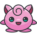 Creature, jigglypuff, video game, gaming, nintendo, Avatar, pokemon, Character Plum icon