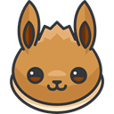 Avatar, nintendo, video game, pokemon, Character, Eevee, Creature, gaming Icon