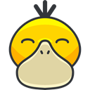 Creature, Character, psyduck, pokemon, gaming, Avatar, nintendo, video game PaleGoldenrod icon
