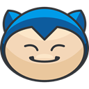 pokemon, Character, nintendo, video game, Avatar, Creature, snorlax, gaming Wheat icon