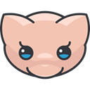 Creature, video game, gaming, Character, Avatar, mew, nintendo, pokemon LightPink icon