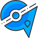 pokemon, mystic, nintendo, video game, gaming DeepSkyBlue icon