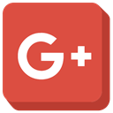 social media, google-plus, google IndianRed icon