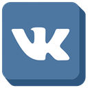 social media, Vk SteelBlue icon