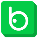 Badoo, social media LimeGreen icon