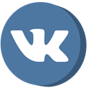 Vk, social media SteelBlue icon