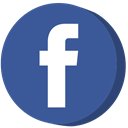 Facebook, social media DarkSlateBlue icon