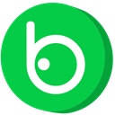 social media, Badoo LimeGreen icon