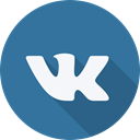 social network, Brand, Social, Logo, vkontakte, website SteelBlue icon