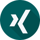 Xing, Logo, website, social network, Brand, Social Teal icon