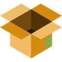 package, Box, packaging, Business, Delivery, cardboard, fragile, Business And Finance SandyBrown icon