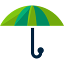 Protection, Rain, rainy, Umbrellas, Umbrella, miscellaneous, weather Black icon