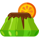 Food And Restaurant, sugar, Dessert, sweet, Jelly, food OliveDrab icon