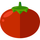 food, Fruit, organic, diet, Tomato, vegetarian, vegan, Healthy Food, Food And Restaurant DarkRed icon