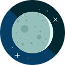 Astronomy, full moon, Moon Phase, Moon, weather, nature, meteorology DarkGray icon