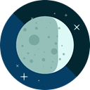 full moon, Moon Phase, Moon, weather, nature, meteorology, Astronomy Icon