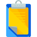checking, Verification, Tools And Utensils, Clipboard, list, miscellaneous, Tasks Gold icon