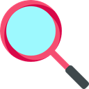 Loupe, Tools And Utensils, zoom, miscellaneous, detective, search, magnifying glass Aquamarine icon