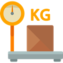weight, Balance, Shipping And Delivery, package, scale Black icon