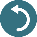 Arrows, next, skip, Curve Arrow, Curved Arrow SeaGreen icon