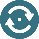 Orientation, Direction, Multimedia Option, Multimedia, Arrows, Reload, refresh SeaGreen icon