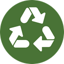 Arrows, Arrow, nature, Container, recycling, symbol, environment, signs, Ecology And Environment DarkOliveGreen icon