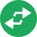 repeat, Direction, Multimedia Option, Arrows, Orientation, interface SeaGreen icon