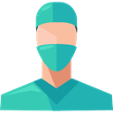 Healthcare And Medical, Professions And Jobs, people, doctor, medical, Avatar, job, Surgeon, profession, Occupation, Health Care LightSeaGreen icon