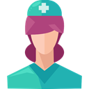 people, Healthcare And Medical, Professions And Jobs, medical, woman, Assistant, Avatar, job, Nurse, profession, Occupation Black icon
