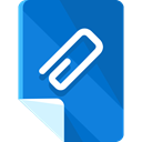 document, Multimedia, File, Archive, Attach, Attachment, Extension, interface, Files And Folders DodgerBlue icon