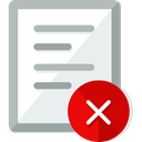 Files And Folders, Archive, cancel, interface, education, document, paper, File, documents Lavender icon