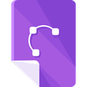 document, File, Archive, interface, Files And Folders DarkOrchid icon