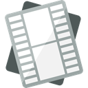 document, Archive, files, video file, Formats, Files And Folders WhiteSmoke icon