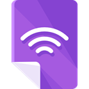 File, Cloud, signal, Clouds, technology, signals, file storage, Cloud storage, Files And Folders DarkOrchid icon