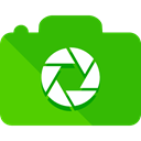 Camera, photo, photography, technology, electronics, photograph, photo camera LimeGreen icon