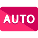auto, ui, Automatic, mode, Multimedia Option Crimson icon