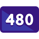 button, ui, definition, 480 Pixels Indigo icon